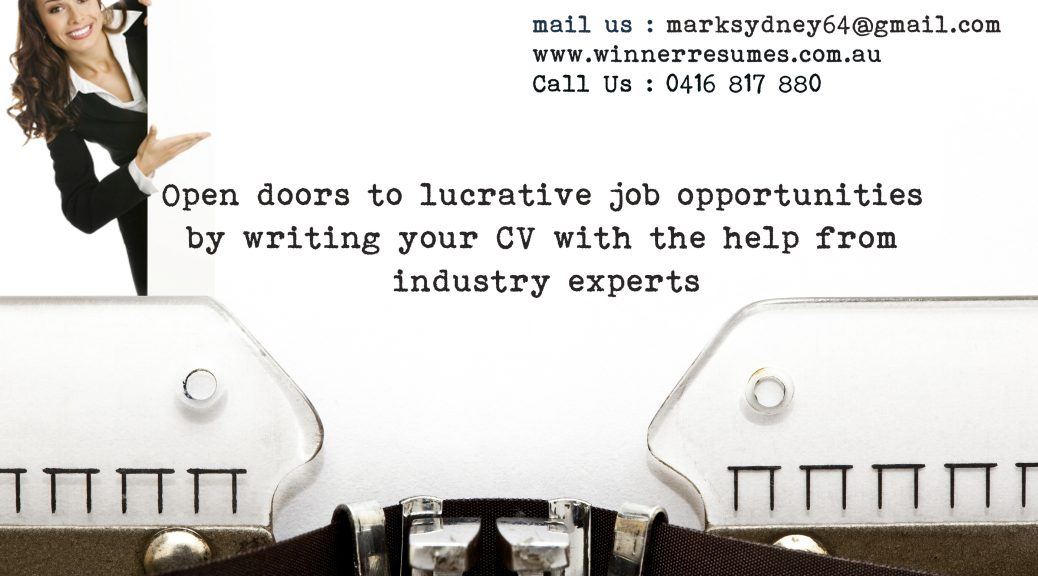 Online cv writing services sydney